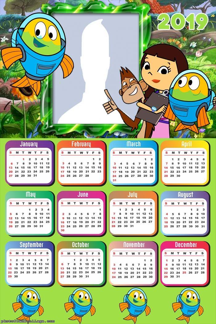 Fishtronaut Calendar 2019