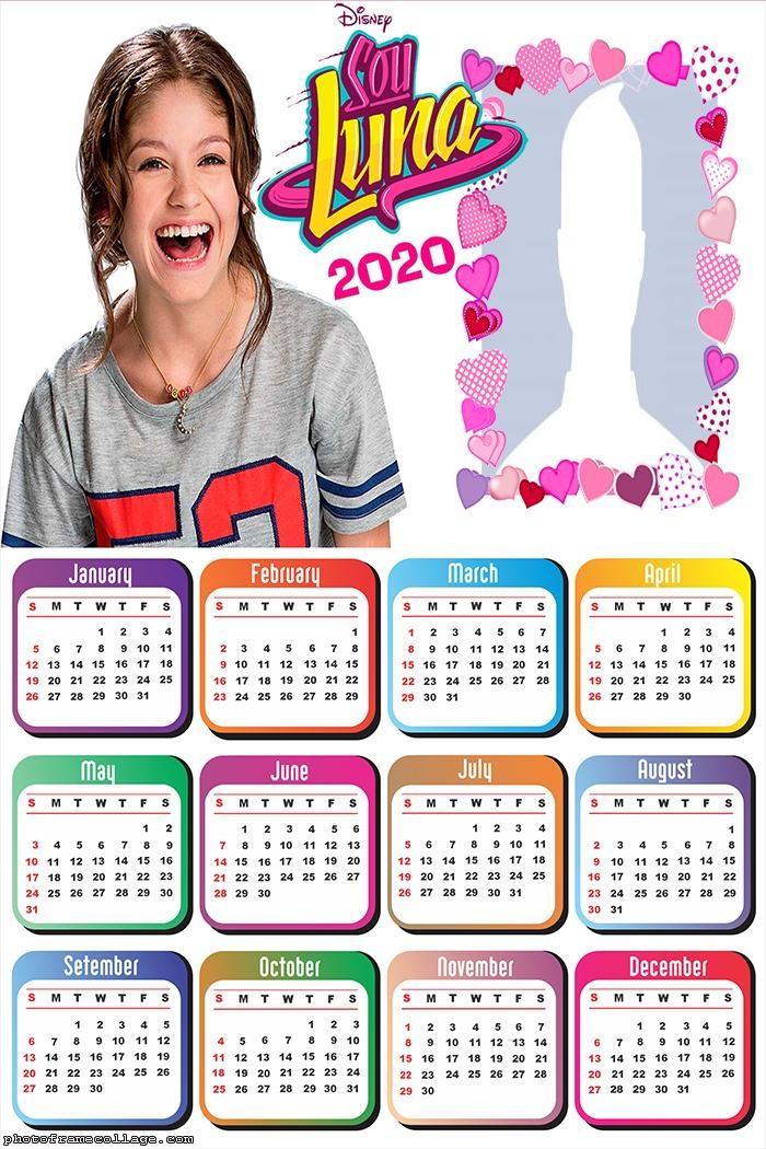 Sou Luna Calendar 2020