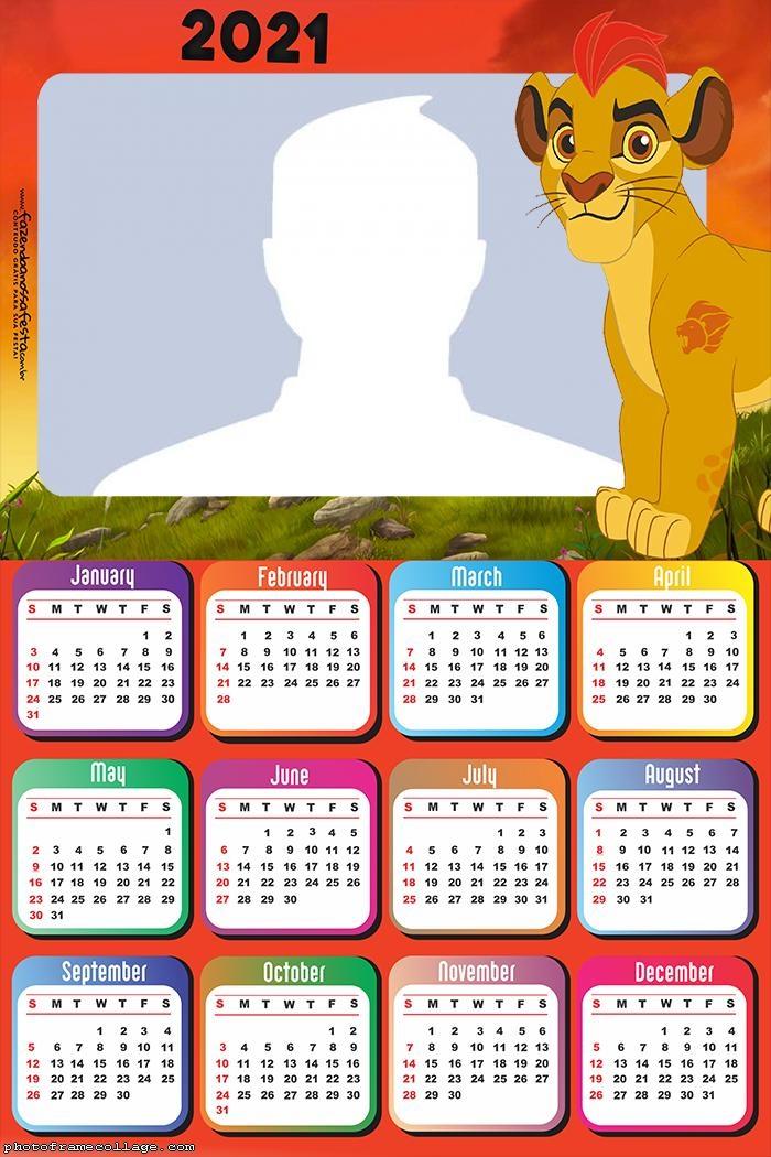 Calendar 201 The Lion Guard