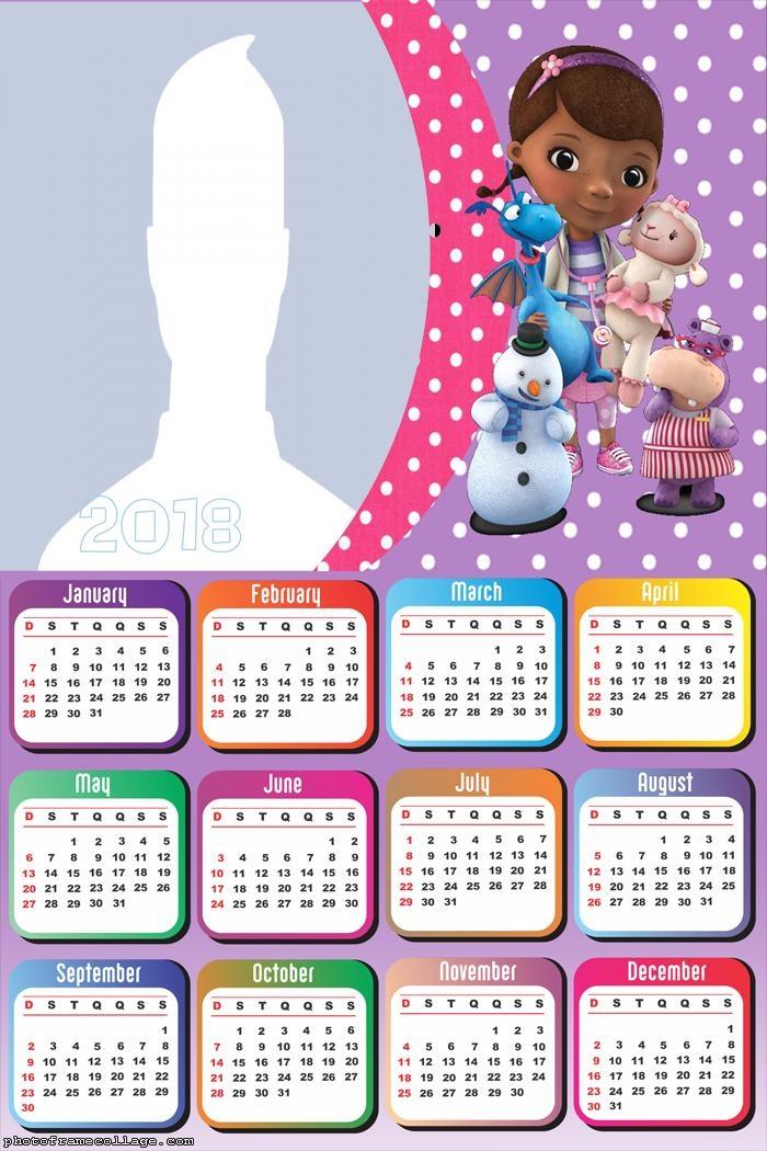 Calendar 2018 Doc McStuffins