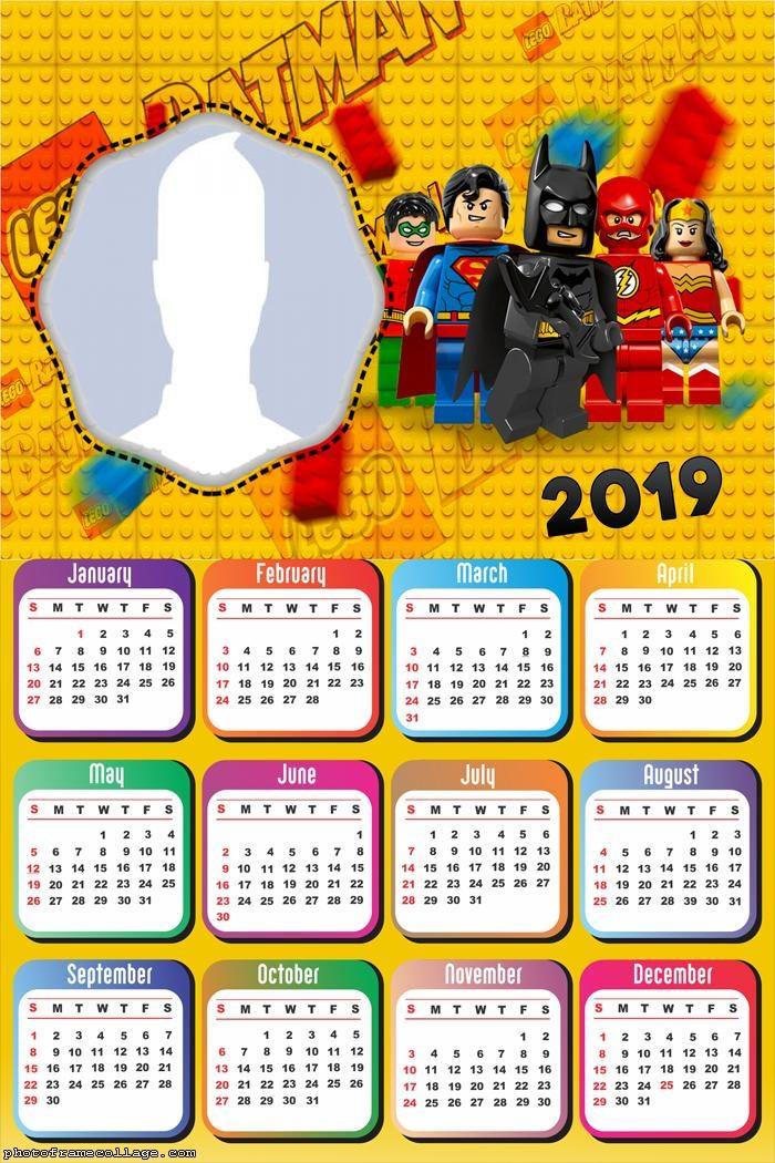 Batman Lego Calendar 2019
