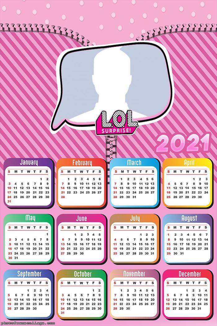 LOL Calendar 2021
