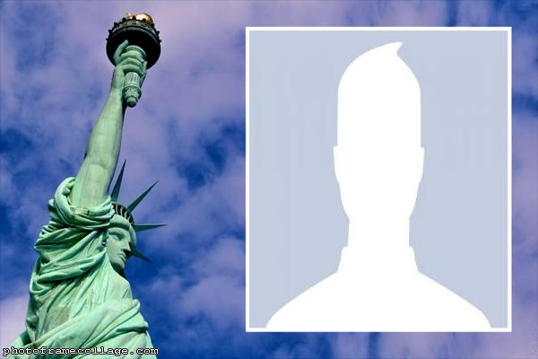 Statue of Liberty Photo Collage