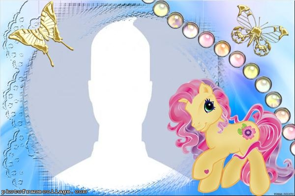 My little Pony and Butterfly