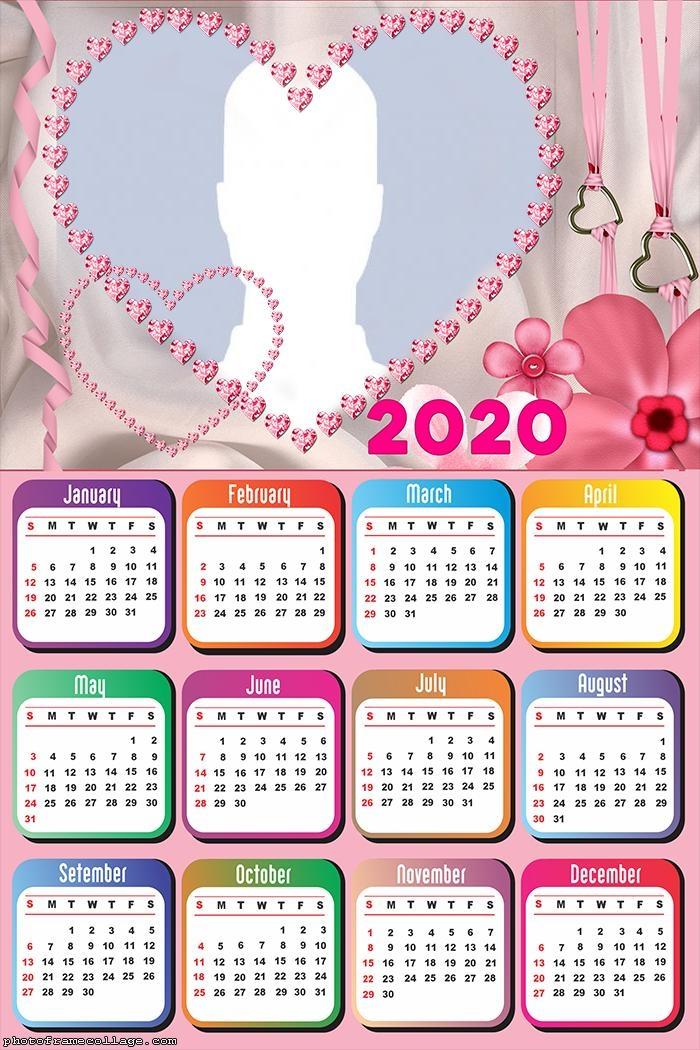 Romantic for Couples Calendar 2020