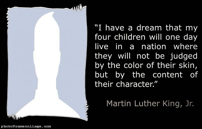 I have a dream Martin Luther King Jr