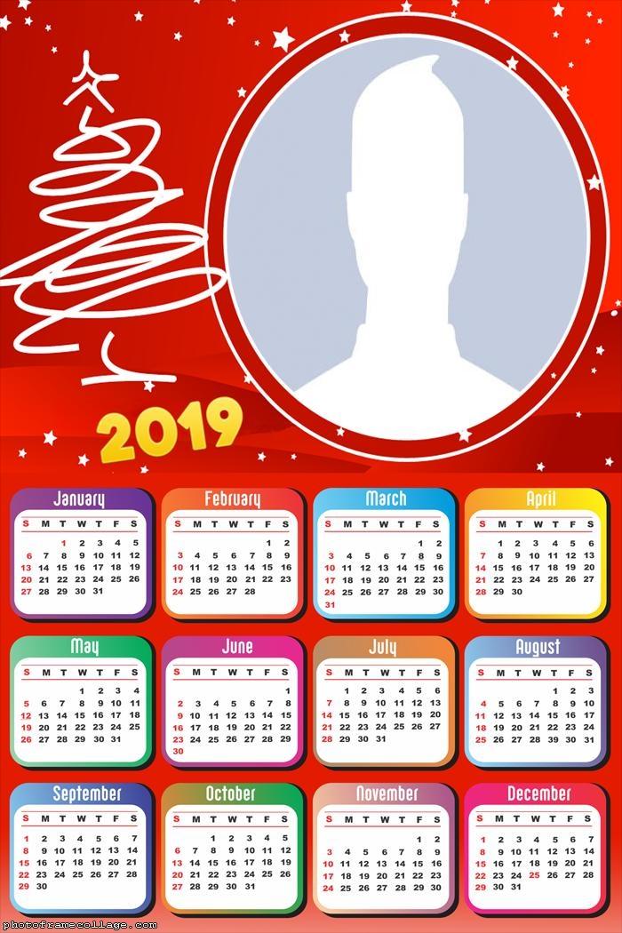 Christmas Arabesque Calendar 2019