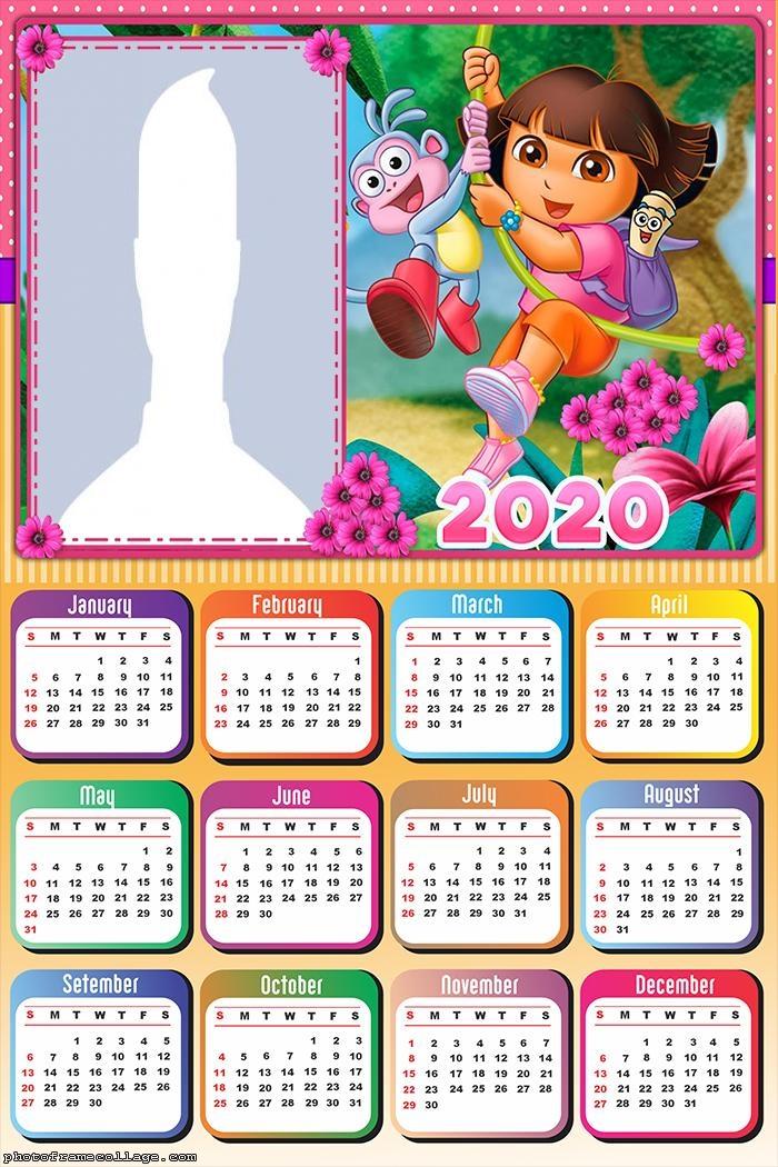 Dora the Explorer Calendar 2020