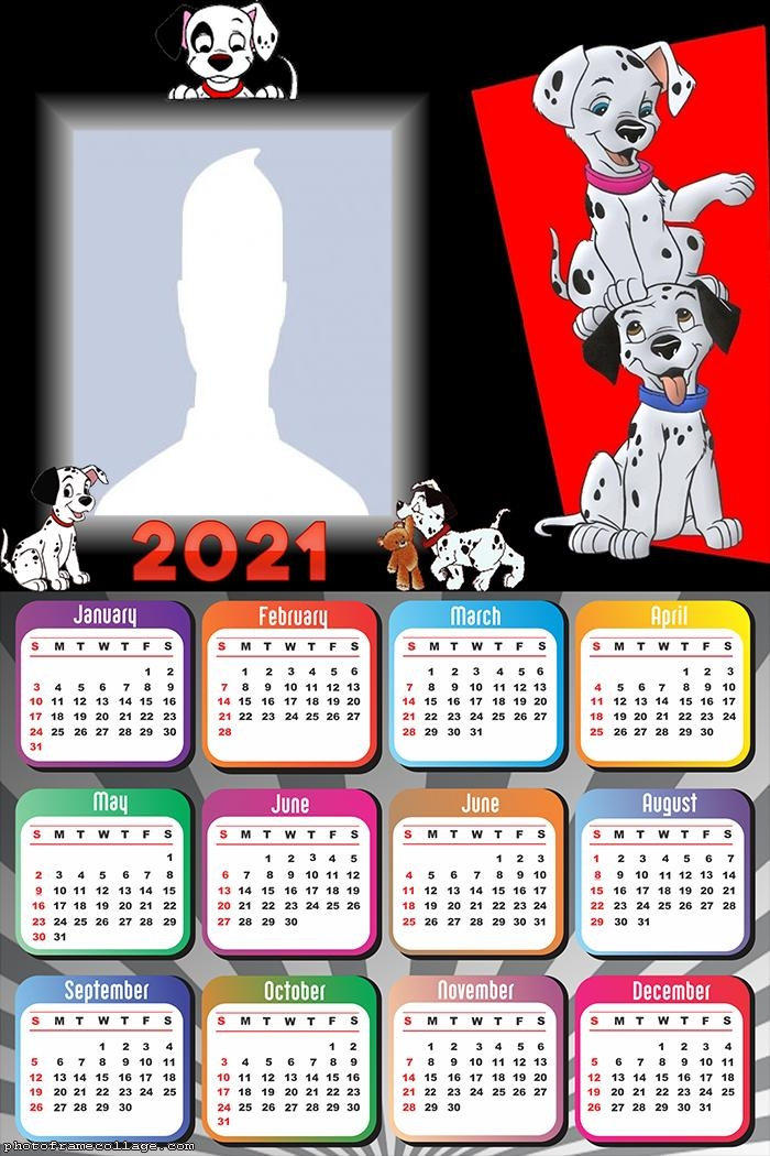 Calendar 2021 101 Dalmatians