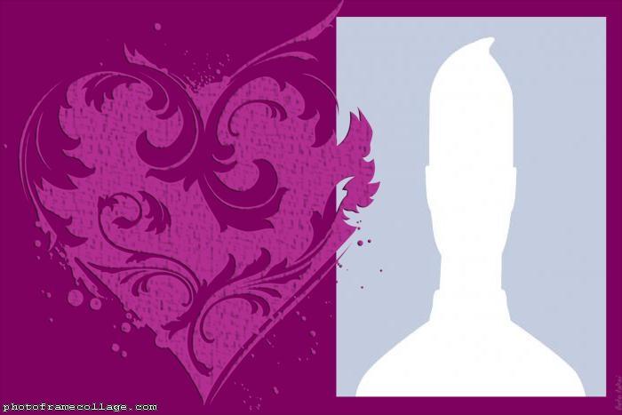 Purple Heart Picture Collage