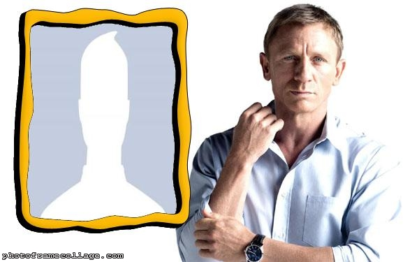 Daniel Craig Photo Collage