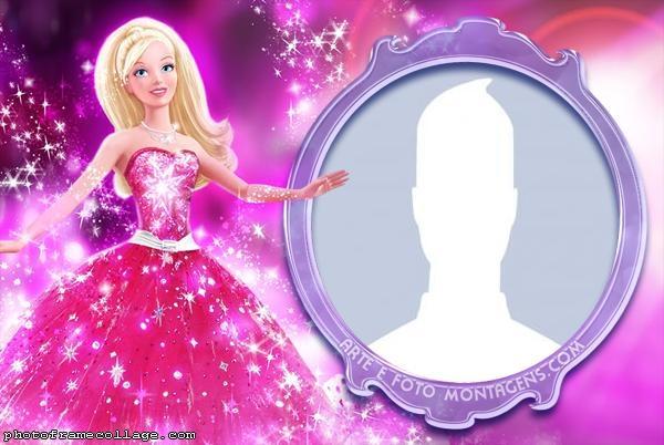 Barbie Dress Glitter