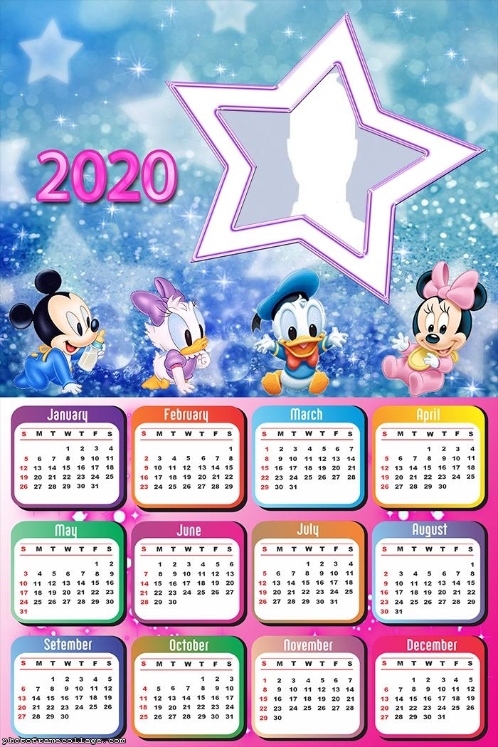 Disney Baby Star Calendar 2020