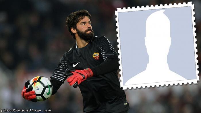 Football Player Roma Star Alisson
