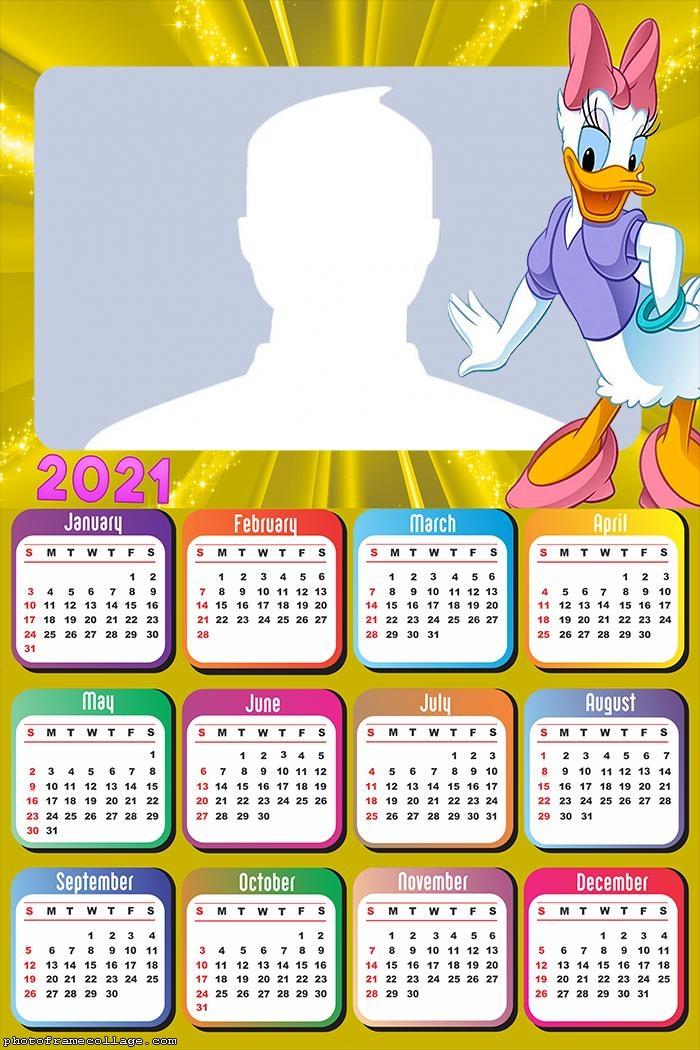 Calendar 2021 Daisy Duck