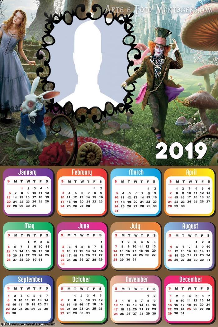 Alice Calendar 2019