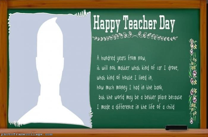 Message Happy Teacher Day Collage