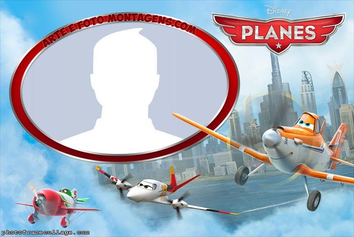 Planes Photo Collage