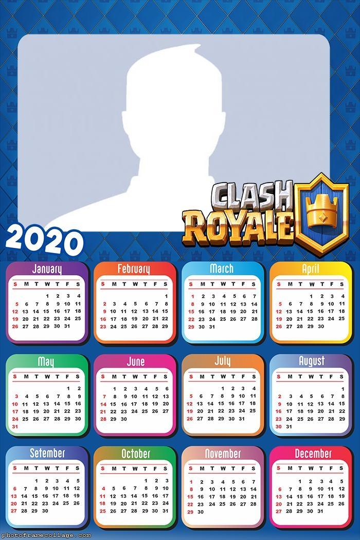 Calendar 2020 Clash Royale