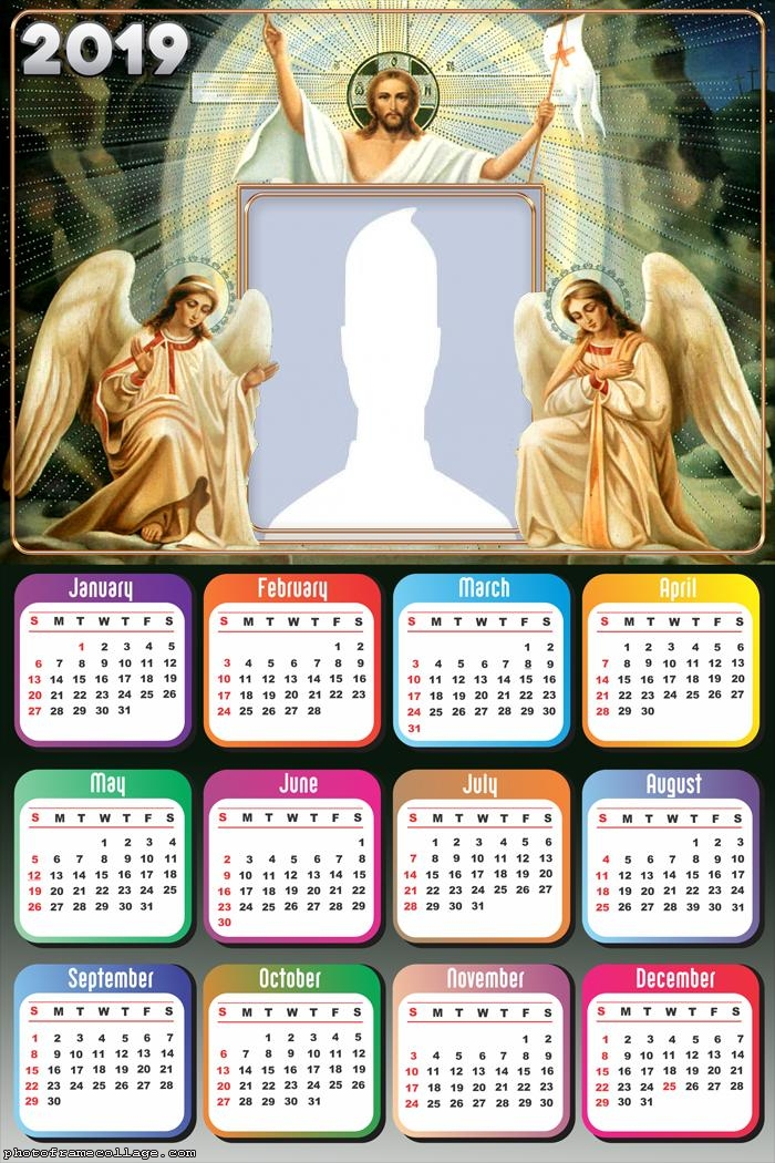 Jesus and Angels Calendar 2019