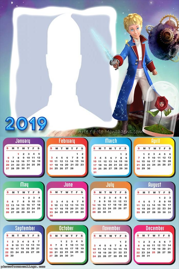 The Little Prince Calendar 2019