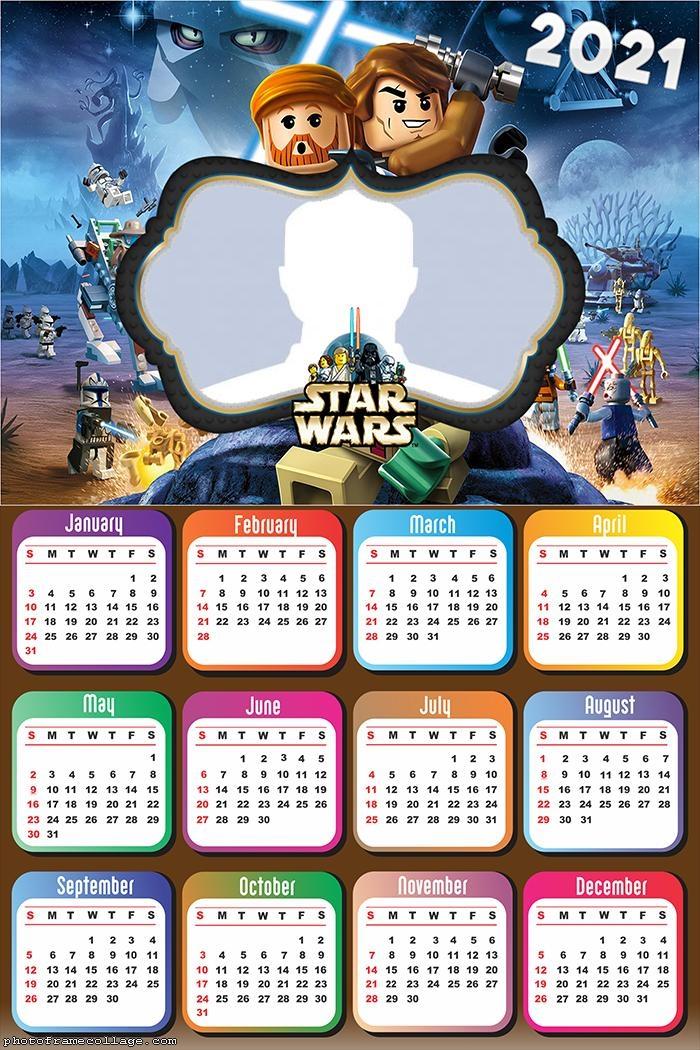 Star Wars Lego Calendar 2021