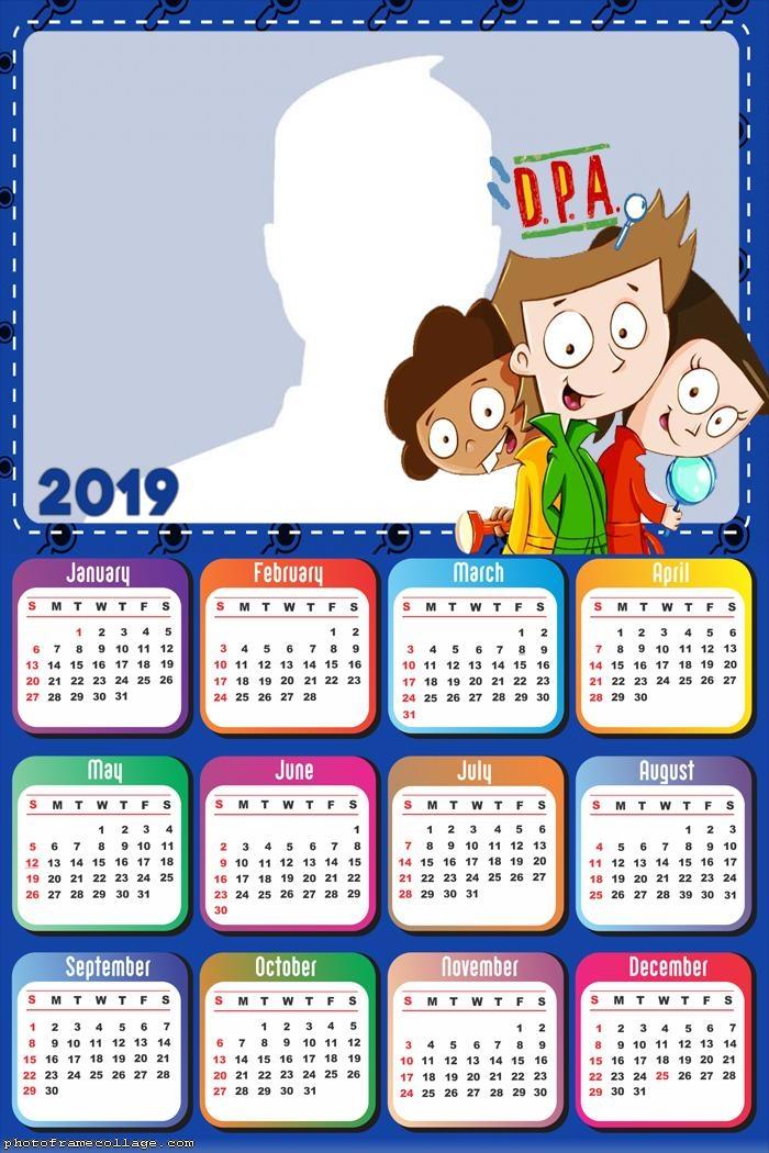 DPA Calendar 2019