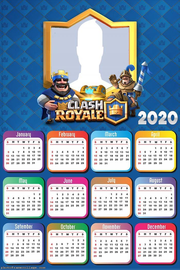 Clash Royale Calendar 2020