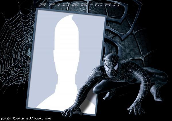 Black SpiderMan Photo Collage