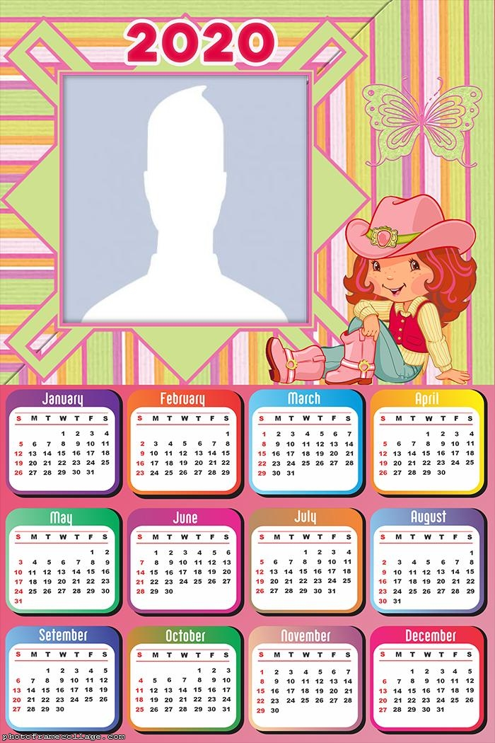 Calendar 2020 The Strawberry Shortcake