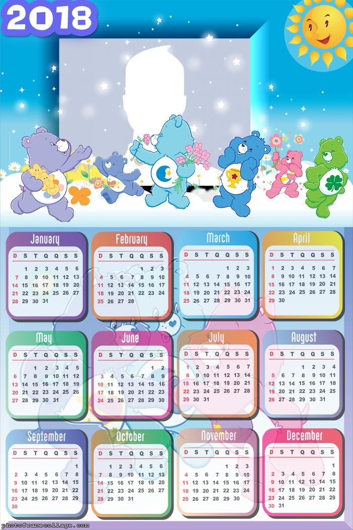 Calendar 2018 Adventures In Care-a-Lot