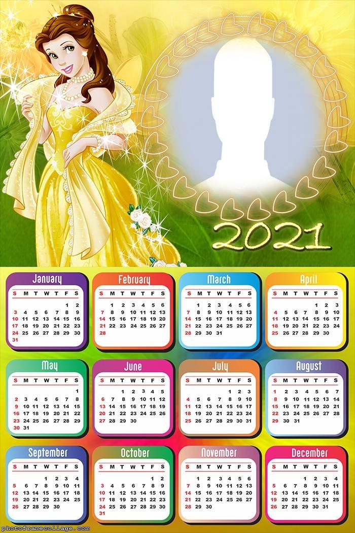 Calendar Princess Belle