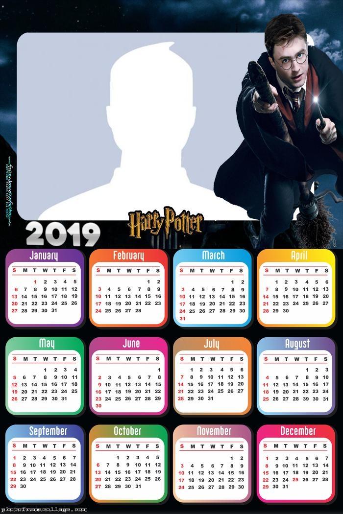 Harry Potter Calendar 2019