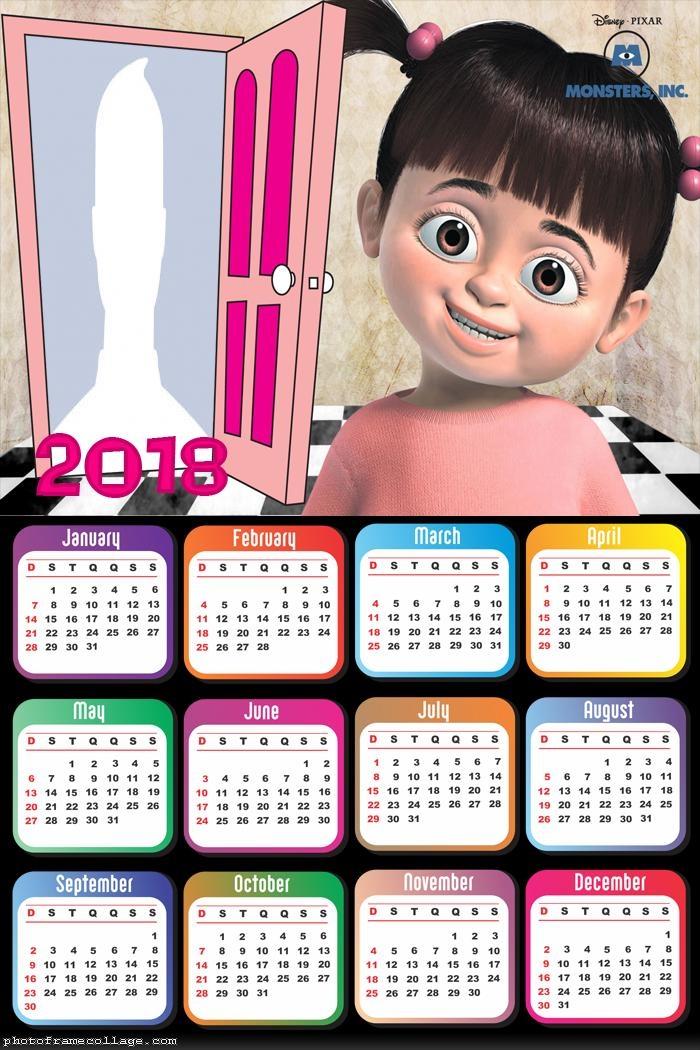 Calendar 2018 Buh