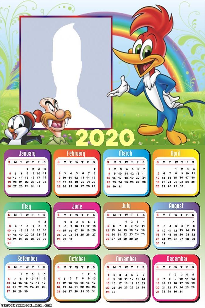 Woodpecker Calendar 2020