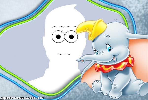 Dumbo Cartoon Frame Online Digital
