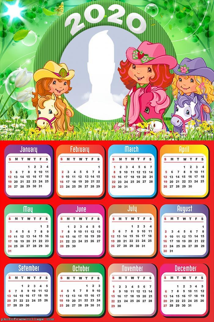 Strawberry Calendar 2020