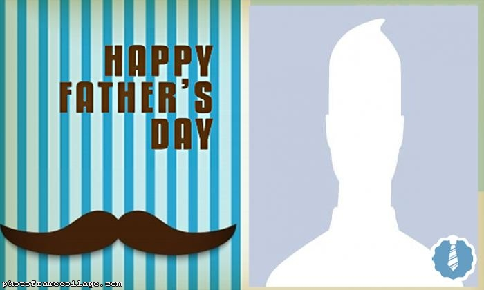 Moustache Happy Fathers Day