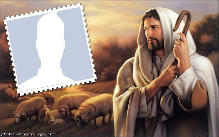 Jesus Loved Shepherd Collage