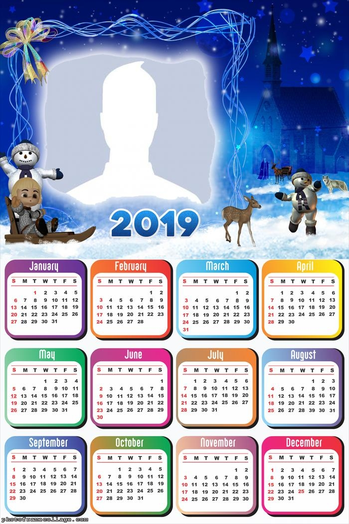 Christmas Snow Night Calendar 2019
