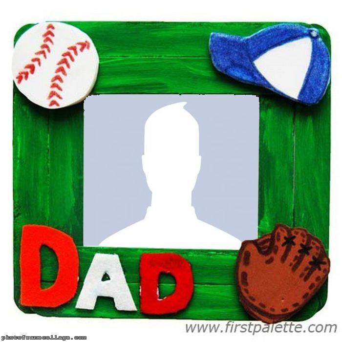 Dad Sport Photo Collage