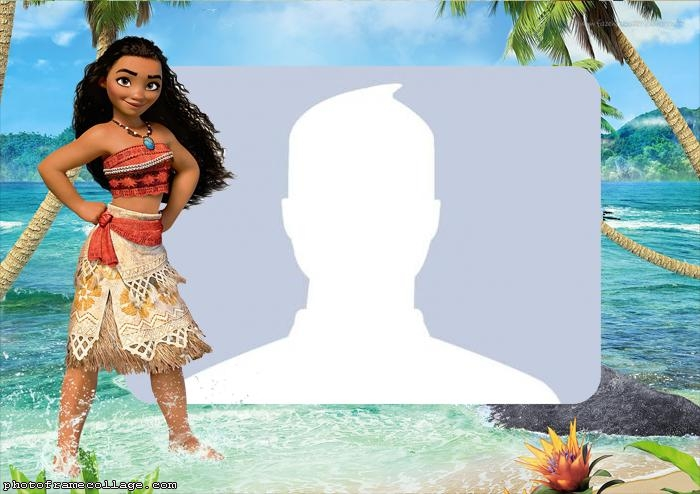 Moana Photo Collage