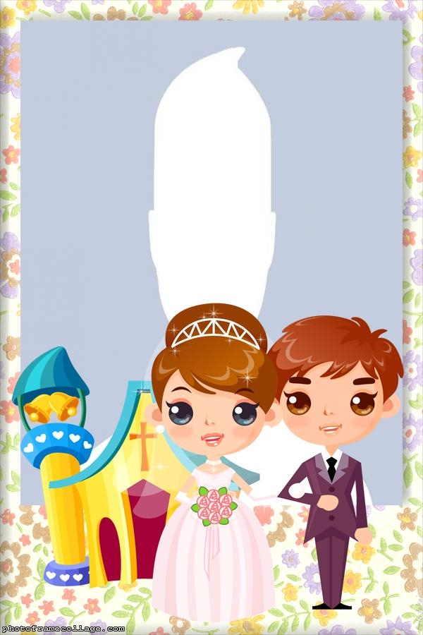 Couple of Bride and Groom