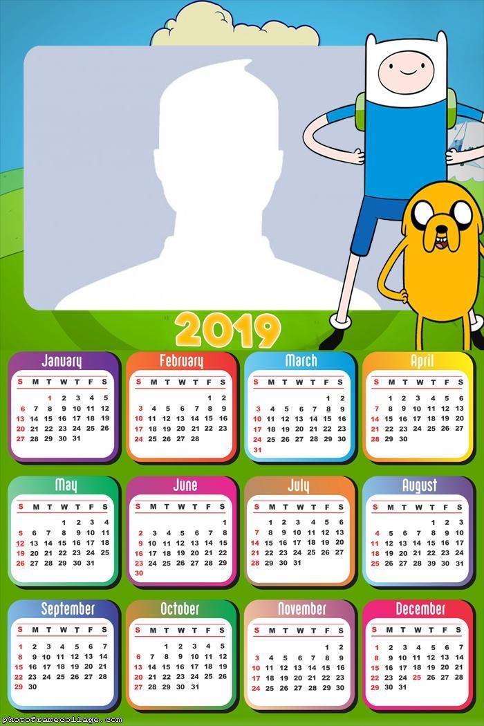 Adventure Time Calendar 2019