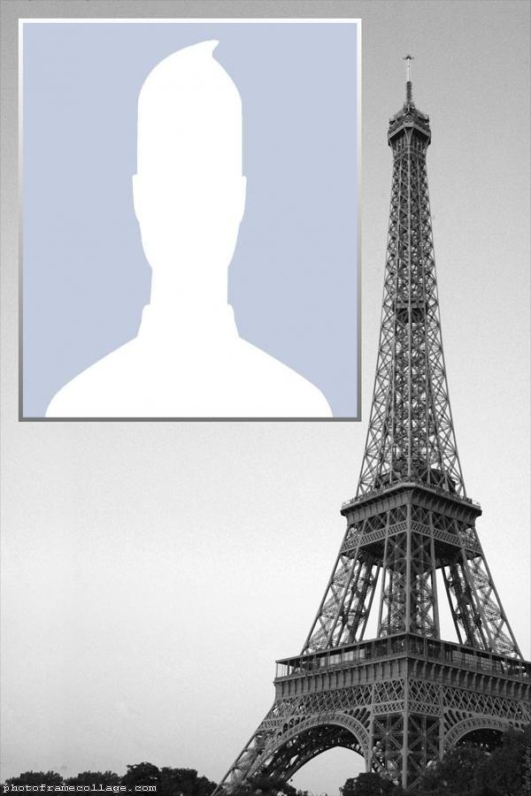 Eiffel Tower Photo Collage