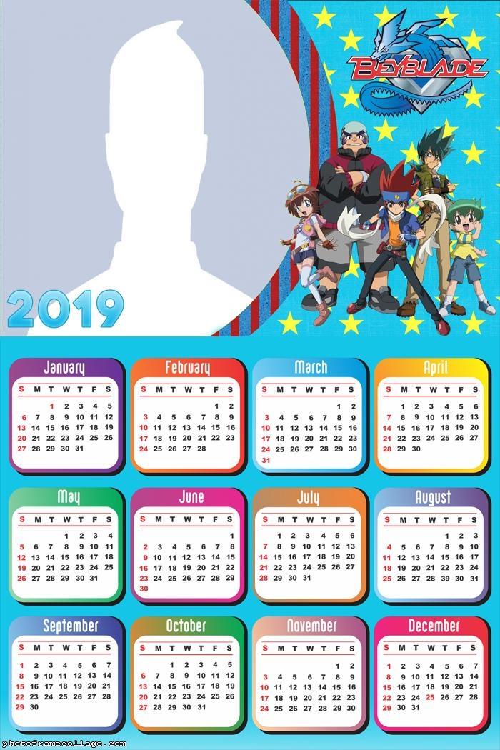 Beyblade Calendar 2019