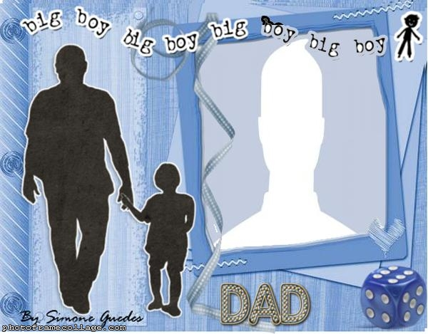 Big Boy Fathers Day Photo Collage