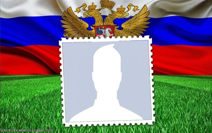 Frame Flag of Russia Photo Frame