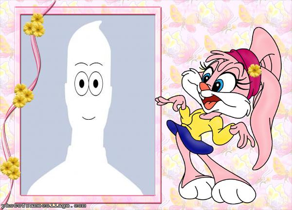 Lola Bunny Pink Background Picture Digital