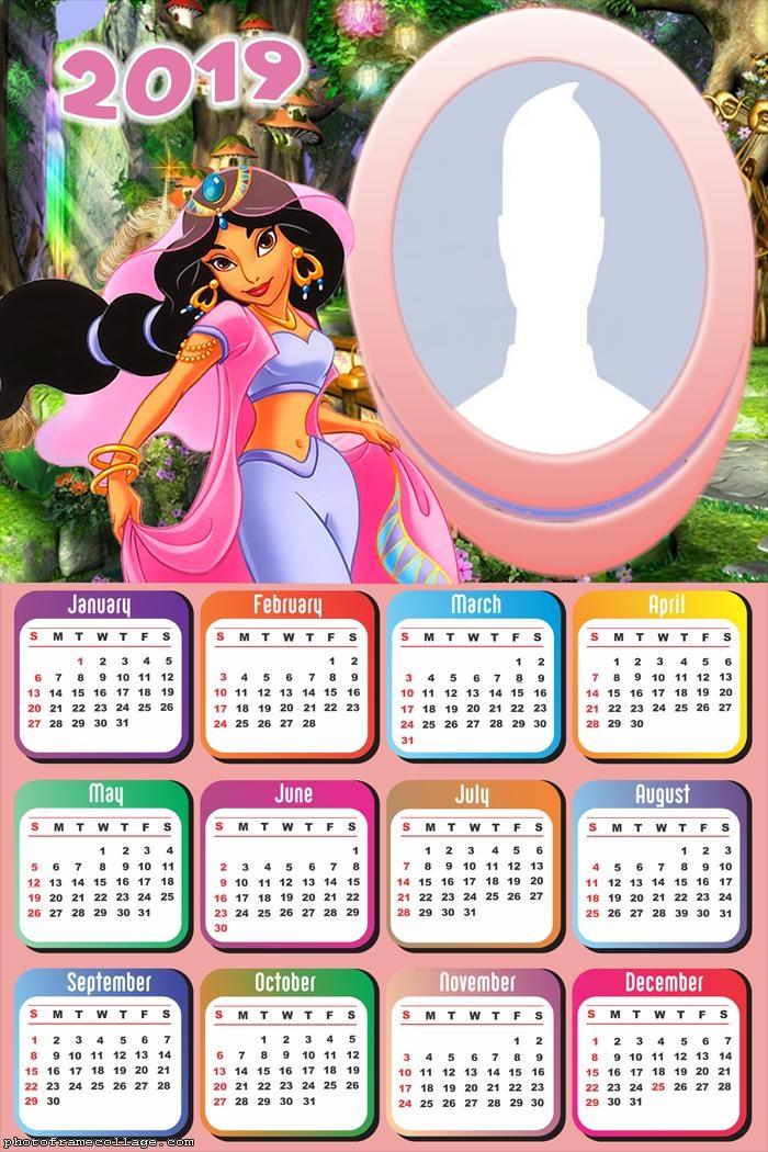Jasmine Calendar 2019